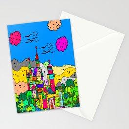 Neuschwanstein Castle by Nico Bielow Stationery Cards