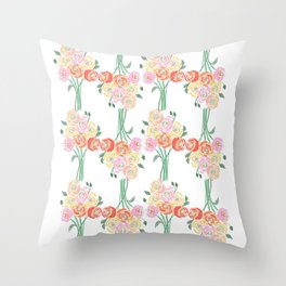 Spring is everywhere Throw Pillow