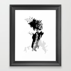 LADY BIRD Framed Art Print