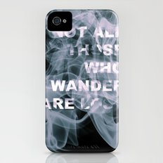 Smoke Quote Slim Case iPhone (4, 4s)