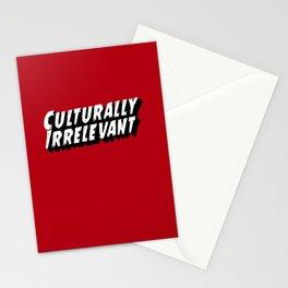 Culturally Irrelevant Fan Gear Stationery Cards