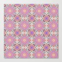 moroccan Canvas Prints featuring Faded Moroccan by k_c_s