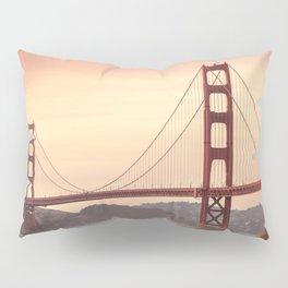 Golden Gate Bridge San Francisco Pillow Sham