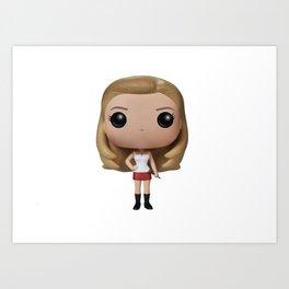 Buffy Toy Art Print