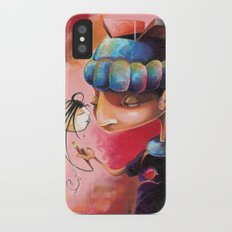 Ugly Gets The Girl iPhone X Slim Case