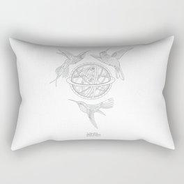 Birds of a feather- The Five Magic Realms Rectangular Pillow