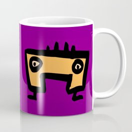 chalkboard wallies colorful pop art Coffee Mug