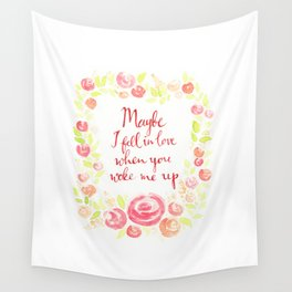 Wake Me Up Wall Tapestry