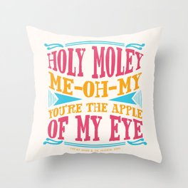 Home - You're The Apple of My Eye Throw Pillow