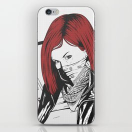 Redheads do it better ;) iPhone Skin