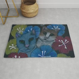 Toby and Dusty Rug