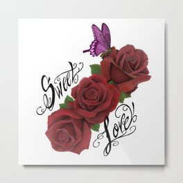 sweet love Metal Print
