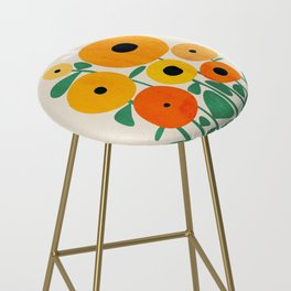 Sunflower and Bee Bar Stool