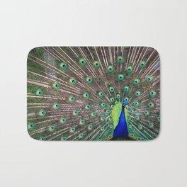 Peacock Bath Mat