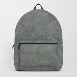 Gray Metallic Backpack