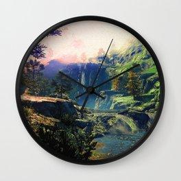 A river rest Wall Clock