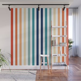 Mod Stripes Wall Mural