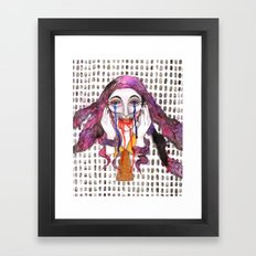 Smile is Happiness  Framed Art Print