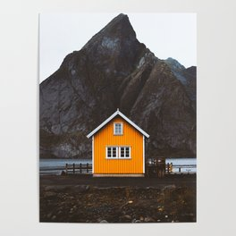 Yellow Cabin Poster