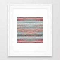 boho Framed Art Prints featuring BOHO by Nika