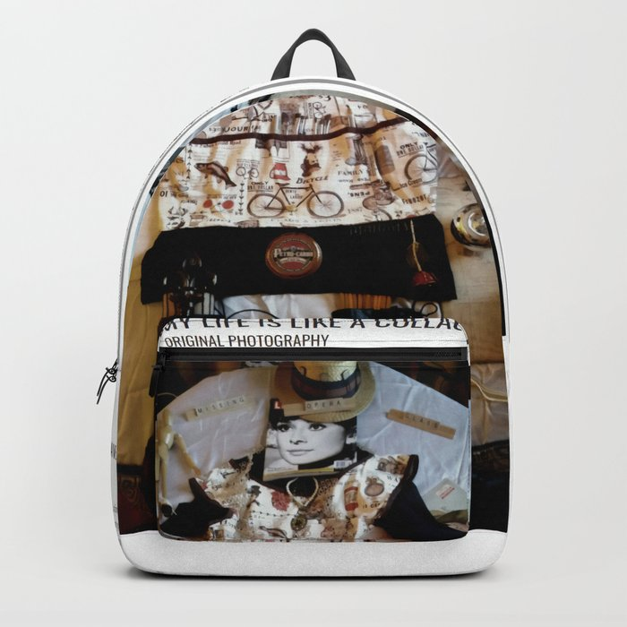 My Life Is Like A Collage / Art Stories Backpack
