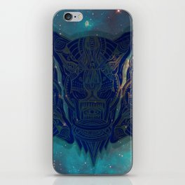illuminated tigers iPhone Skin