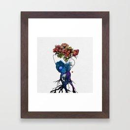 Roots of love. Framed Art Print
