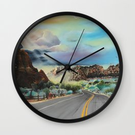 Spirit Canyon Wall Clock