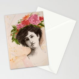 Flower Hat Stationery Cards