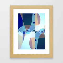 Abstract Fractal Art - Quistere- Cubism- Picasso Art Framed Art Print