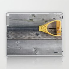 Yellow Handle Laptop & iPad Skin