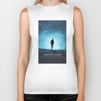 fault in our stars Biker Tanks featuring The Fault In Our Stars by MalenaTotland