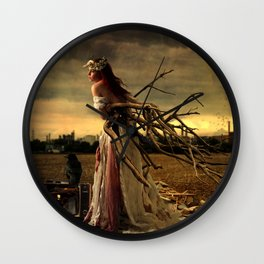 Ripe With Decay Wall Clock