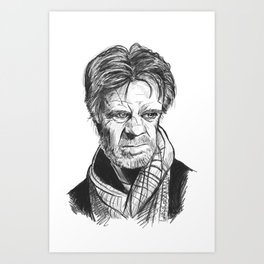 William H Macy Art Print