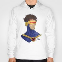 cyclops Hoodies featuring Cyclops by Matthew Bartlett