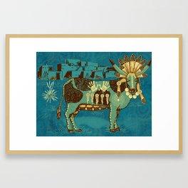 Cowchina Framed Art Print