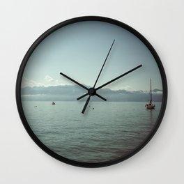 LAUSANNE / SWITZERLAND Wall Clock