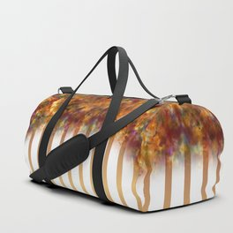 Autumn Stripes Duffle Bag