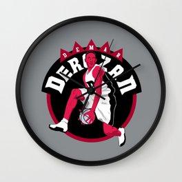 Demar Derozan Wall Clock