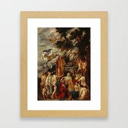 Jacob Jordaens - Allegory of the Poet Framed Art Print