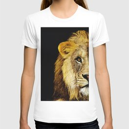 Lion Art - Face Off T-shirt