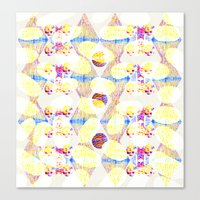 scales Canvas Prints featuring Scales by Rachel Clore