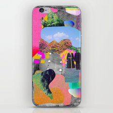 Brash and Centered Past iPhone & iPod Skin