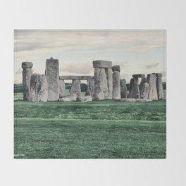 Stonehenge 2005 Throw Blanket