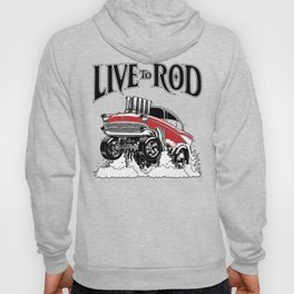 1957 CHEVY CLASSIC HOT ROD Hoody