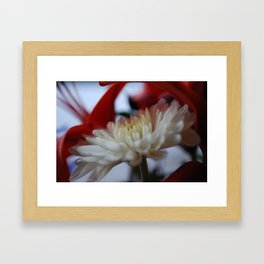 soft, soft, or cruel Framed Art Print