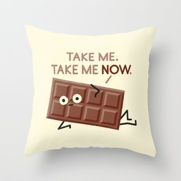 Sweet Talk Throw Pillow