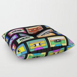Mixtapes Floor Pillow