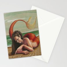 Drawing in the Sand Stationery Cards