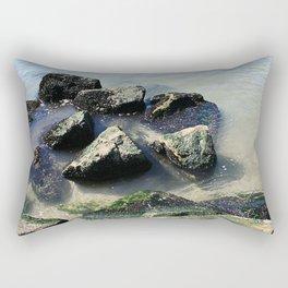 Endless Summer Beach  Rectangular Pillow